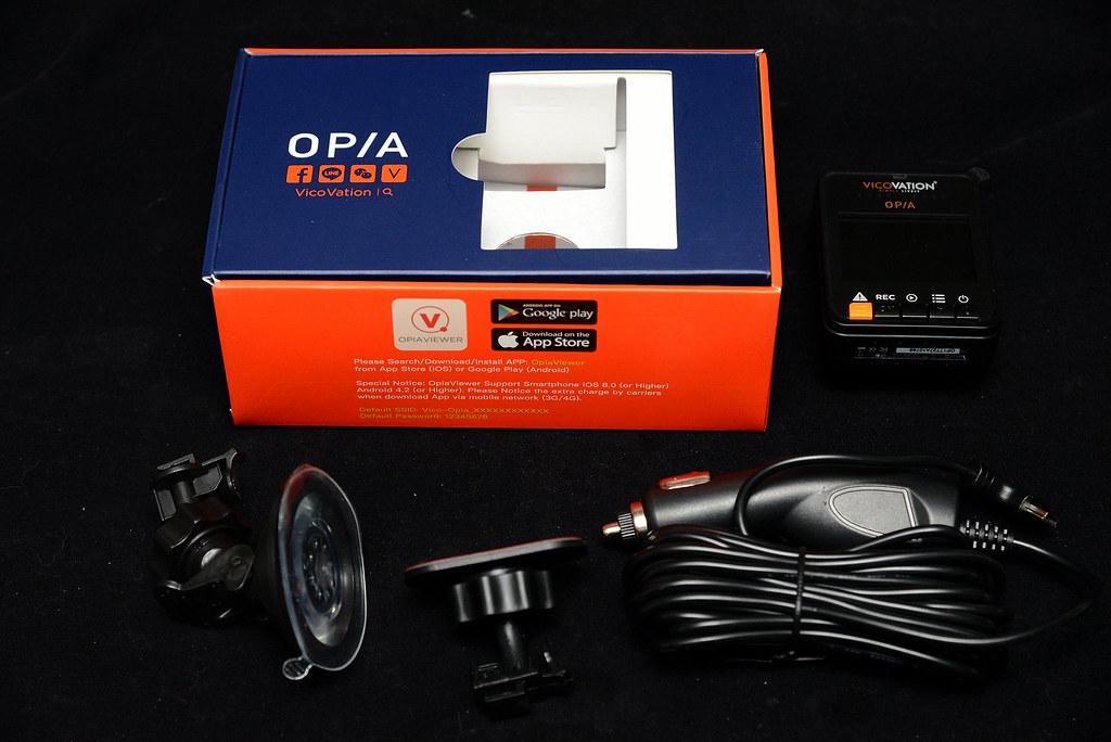 視連科Vico Opia1行車記錄器