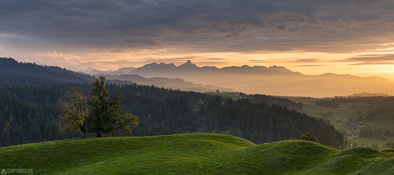 Sunset Panorama - Schallenberg