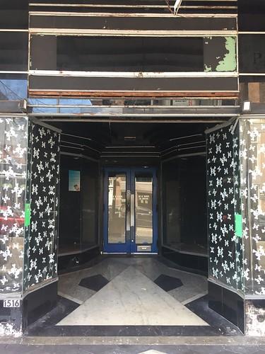 ybor tampa florida central downtown terrazzo artdeco entrance storefront