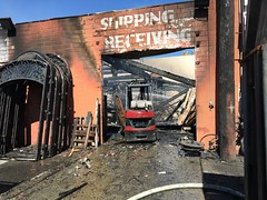 Fire Consumes Sun Valley Door and Hardware Business