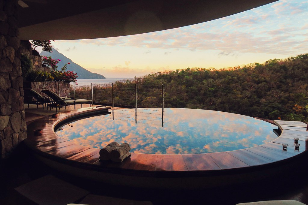 The Little Magpie Jade Mountain St Lucia Caribbean Review