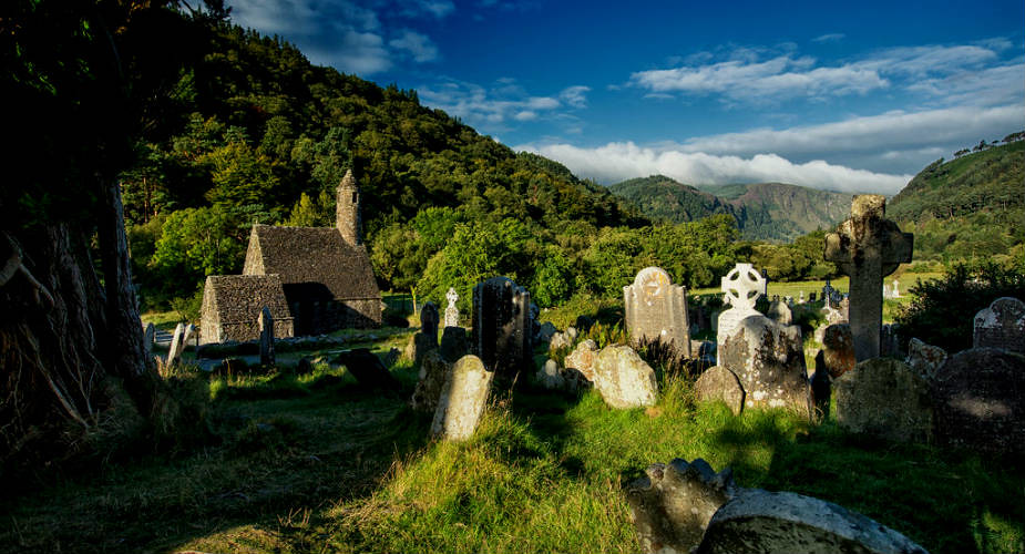 Dagtrip vanuit Dublin: Wicklow Mountains en Glendalough | Mooistestedentrips.nl