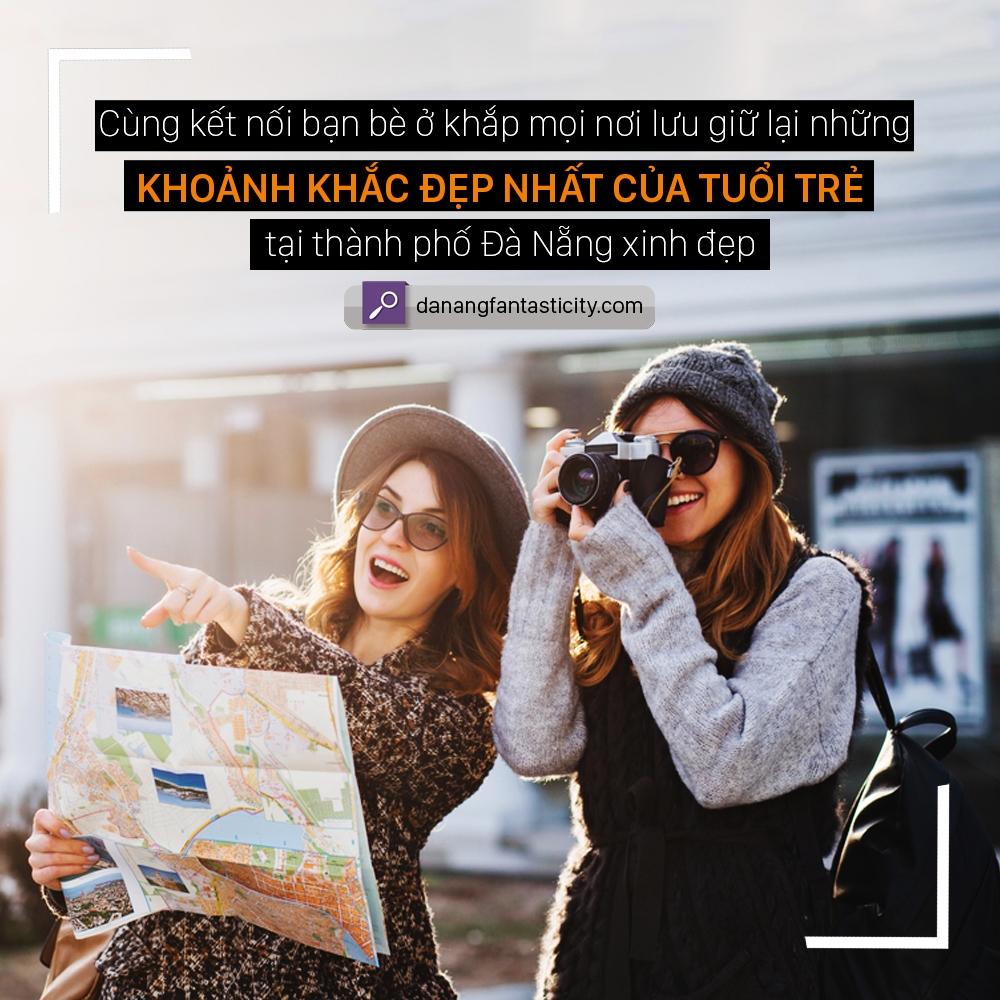 Cùng kết nối bạn bè ở khắp mọi nơi và lưu giữ lại những khoảnh khắc đẹp