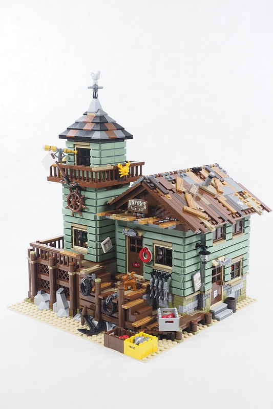 Brickfinder Review Lego Ideas Old Fishing Store 21310
