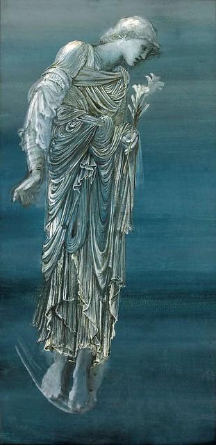 burne-jones, edward coley - The Angel of the Annunciation