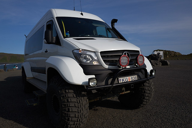 traveling Iceland in style: The Mercedes Monster Truck