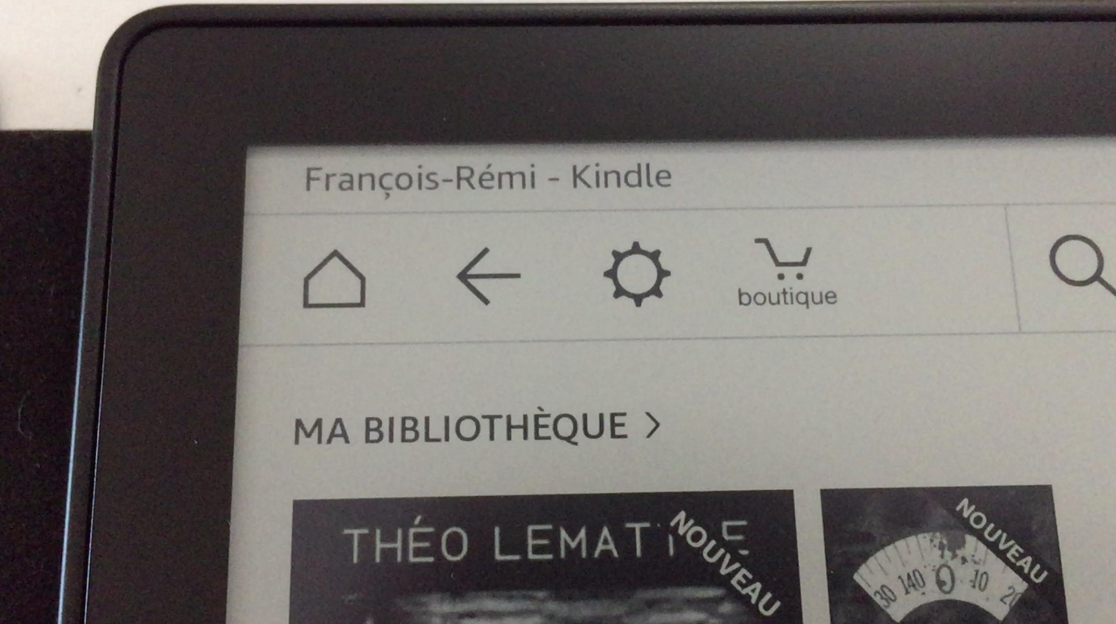 20170827 Test de la liseuse électronique Kindle OASIS Amazon 3