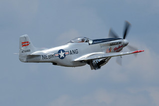 "AirExpo 2017 - P-51 Mustang ""Barbara Jean"" - Sucking Up The Gear"