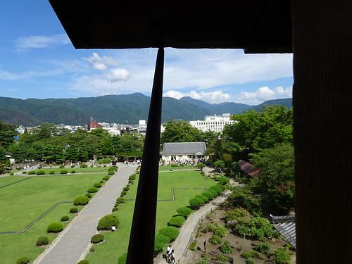 松本城からの眺望