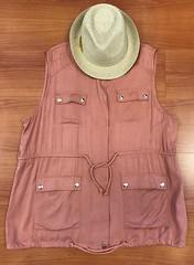 11. 3451 Pocketed Sleeveless Jacket 42.95