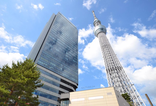 japan itinerary travel guide tokyo skytree