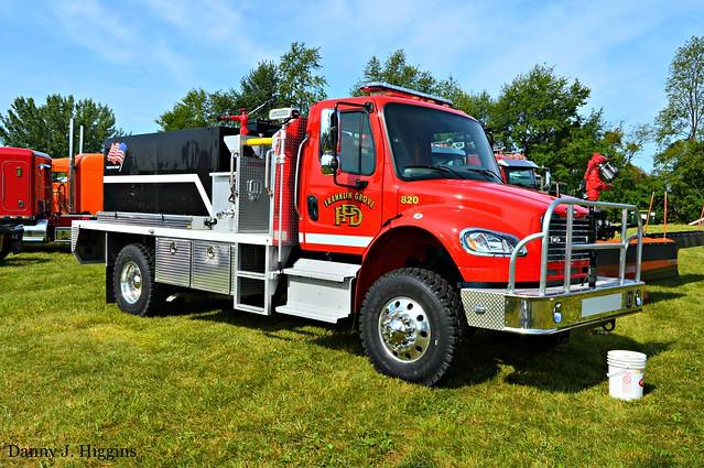 Big Rig Truck Show.   .  Harvest Festival.  Chaplin Creek Village, Franklin Grove, Illinois. DSC_6265