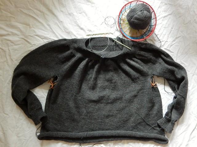 свитер-полуфабрикат