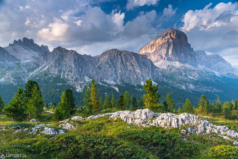 Sunset at the Piz Boè - Dolomites