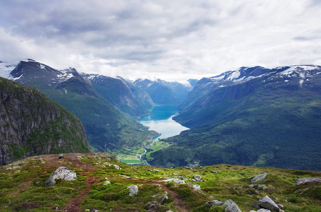 View from Mt Hoven