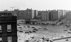 Queens Boulevard View From My Apartment Building 1973