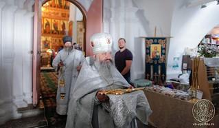 Литургия в Хутынском монастыре 230