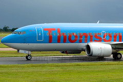 G-THOP Thomsonfly B737-300 Manchester Ringway Airport