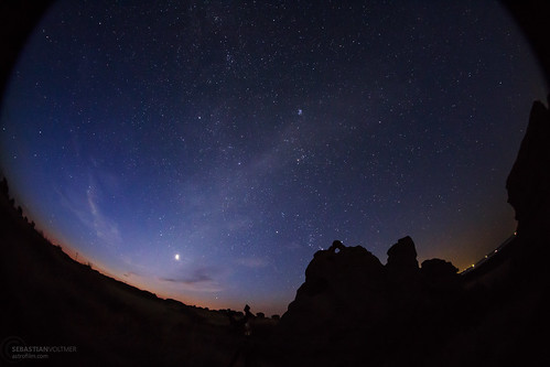 Twilight and Zodiacal Light - Eclipse Day