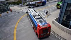 WMATA Metrobus 2011 New Flyer Xcelsior XDE40 #7025