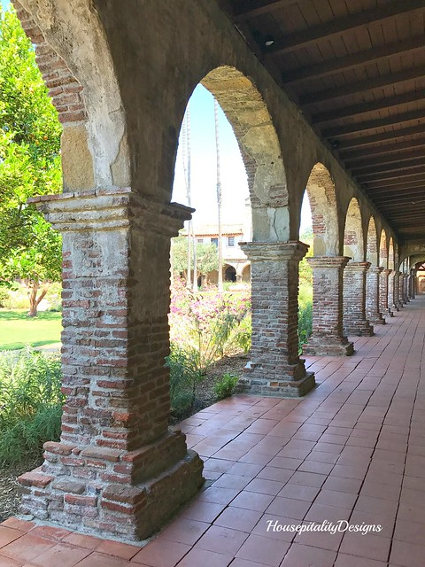 Mission of San Juan Capistrano-Housepitality Designs
