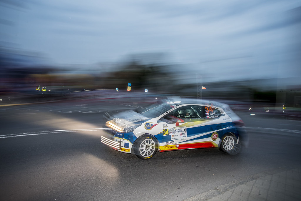 34 MARES Filip (CZE) HLOUSEK Jan (CZE) Peugeot 208 R2 action during the 2017 European Rally Championship Rally Rzeszow in Poland from August 3 to 5 - Photo Gregory Lenormand / DPPI