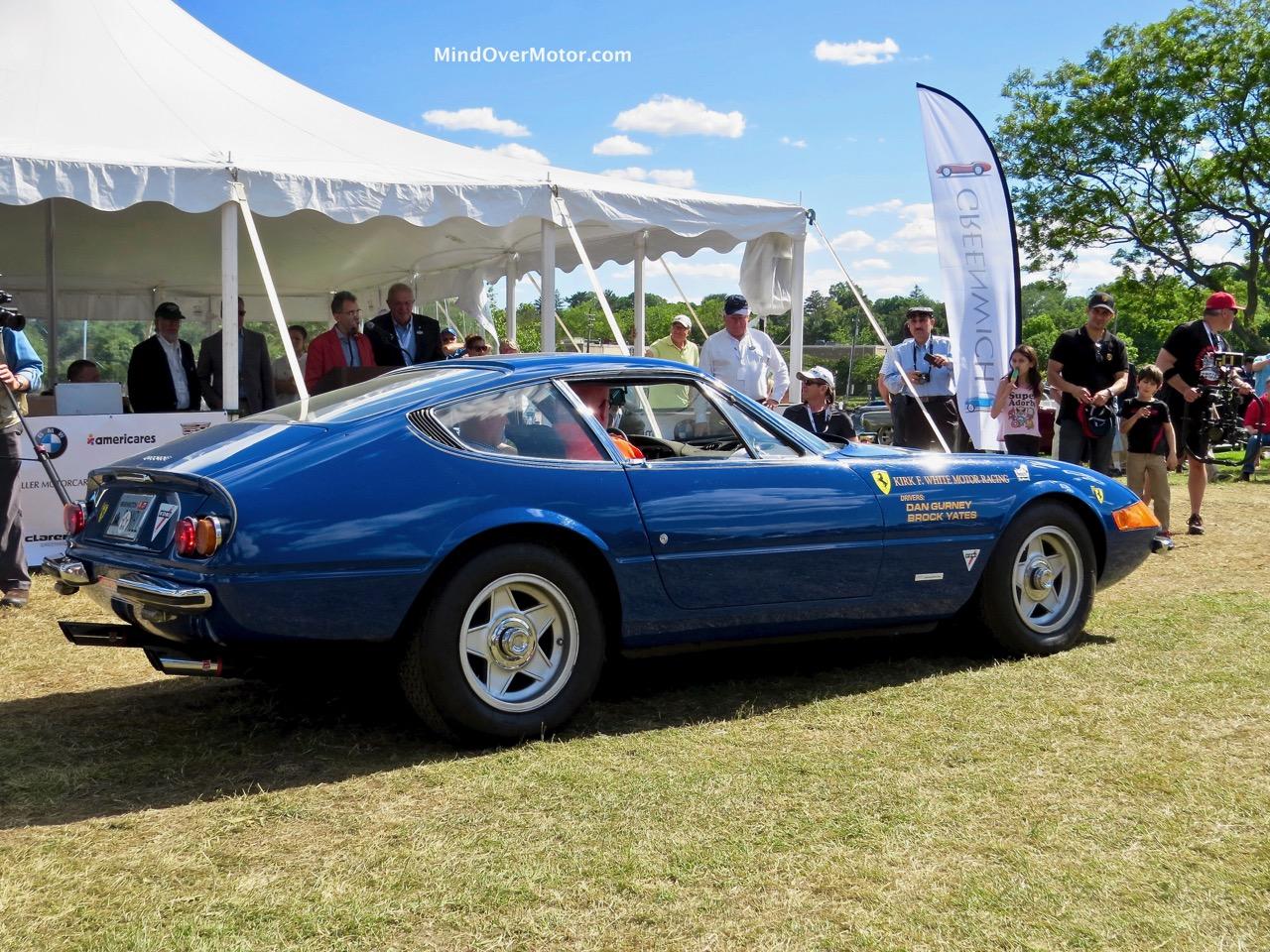 Gurney-Yates Ferrari Daytona Rear