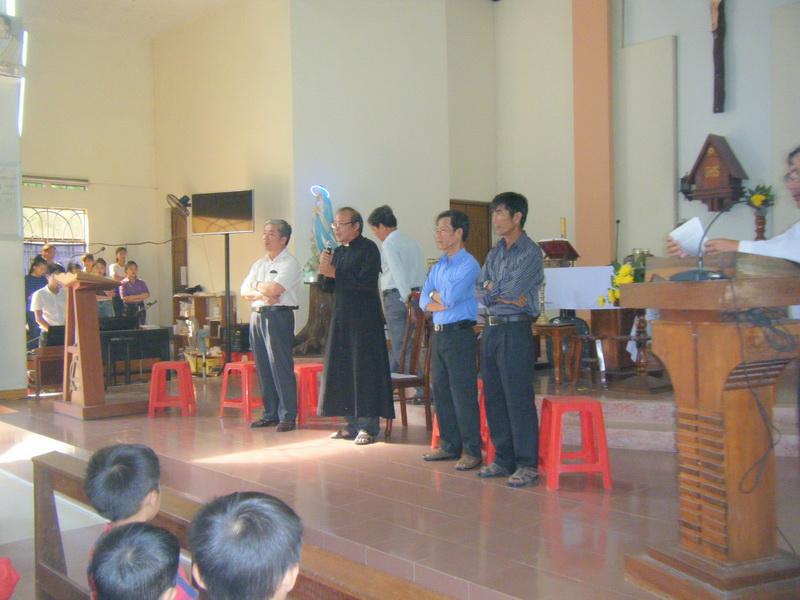 Giáo xứ Đa Lộc khai giảng năm học giáo lý 2017-2018