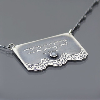 Journey Quote Necklace
