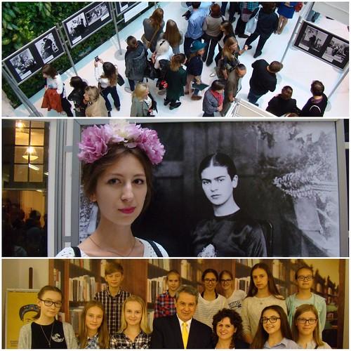 """Inauguración de la exposición fotográfica """"Frida Kahlo y Diego Rivera ¡Viva la Vida"""" en Varsovia"""