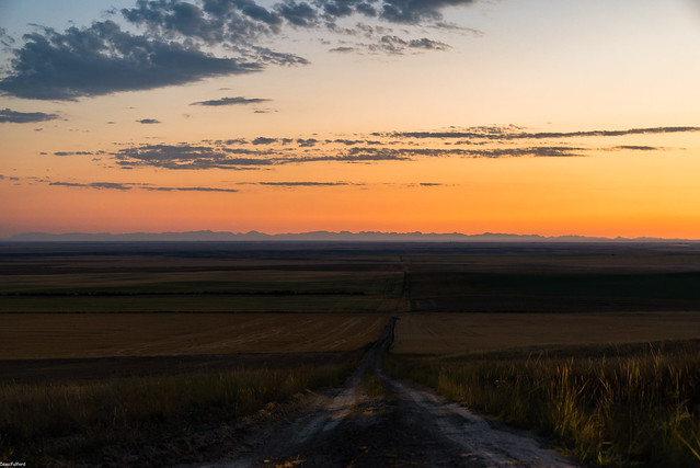 Brady Montana Sunset Earth, Nikon D610, Sigma 24-105mm F4 DG OS HSM
