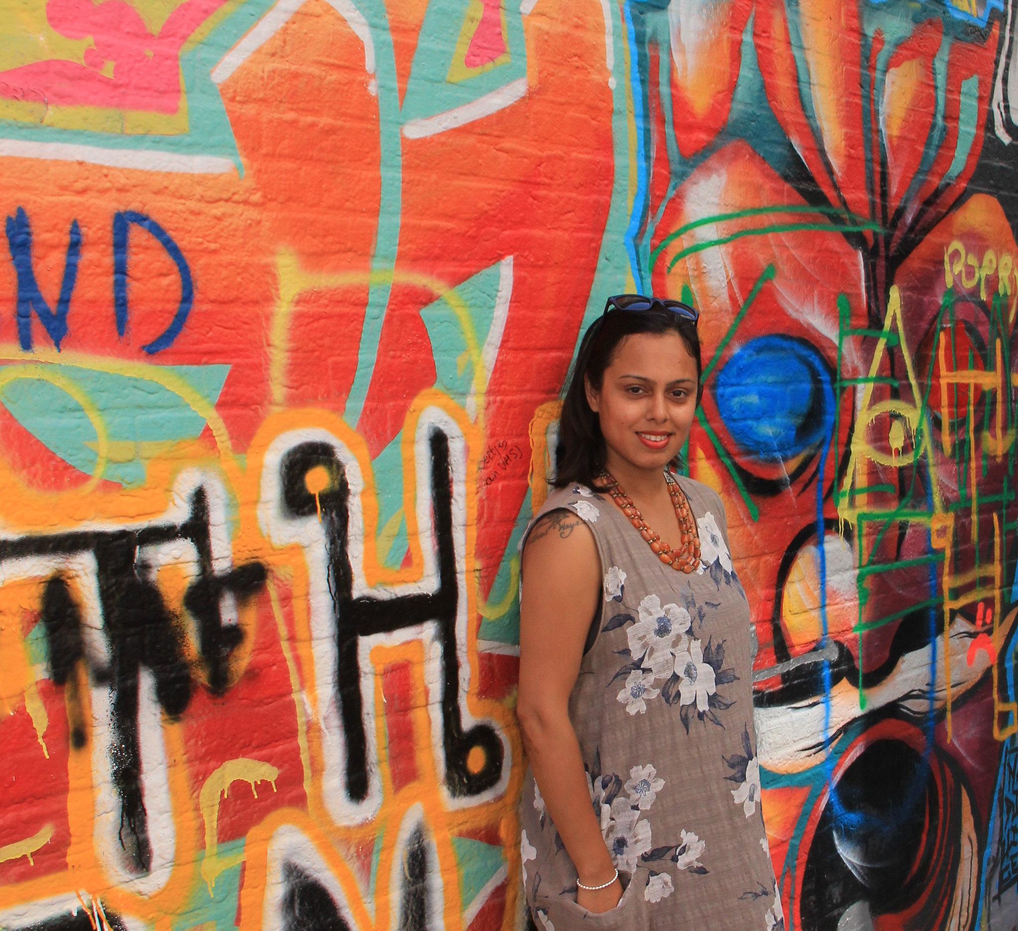 Graffiti Lane in Ghent