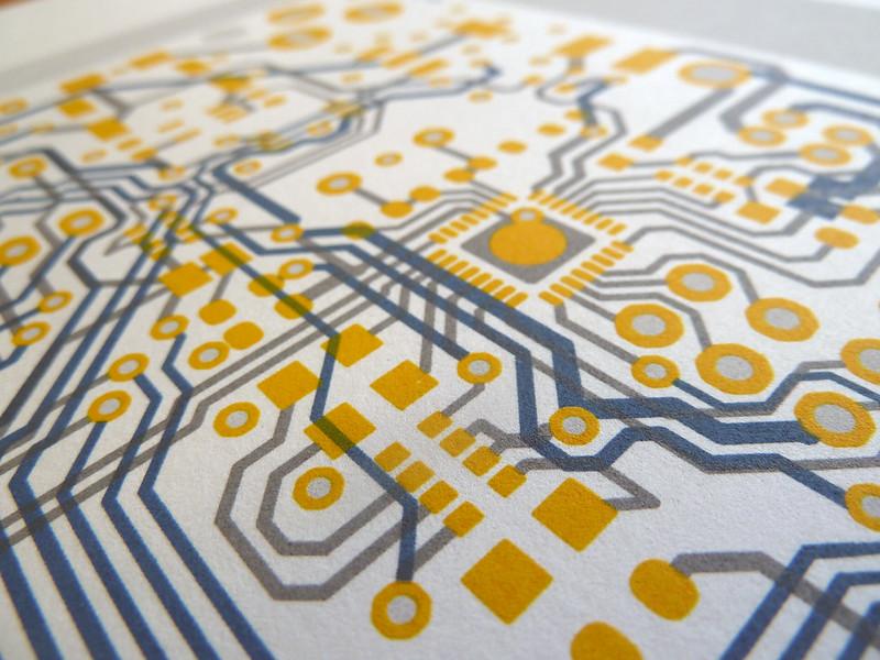 Arduino UNO circuit portrait