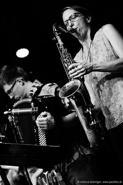 Alois Eberl: accordion / Sophie Hassfurther: sax