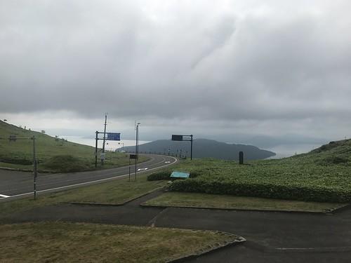 美幌峠で晴れ待ち