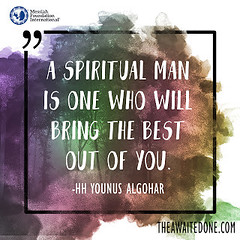 Quote of the Day: A Spiritual Man...