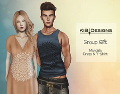 KiB-Designs - Mandala-Dress & T-Shirt GROUP GIFT