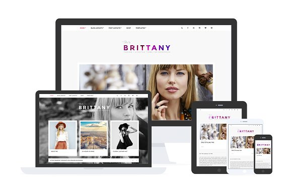Brittany v1.3.2 – Blog & Shop Theme