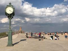 #JacobRiisPark #AtlanticOcean #BeachBoardwalk #Clock #QueensNY #USA #Wednesday #August 16th 2017 #RiisPark #RiisBeach #beach #TheRockaways #Rockaways #RockawayBeach #BreezyPoint #NY #NYC #NYS #NewYork #NewYorkCity #NewYorkState #LI #LINY #LongIsland #Long
