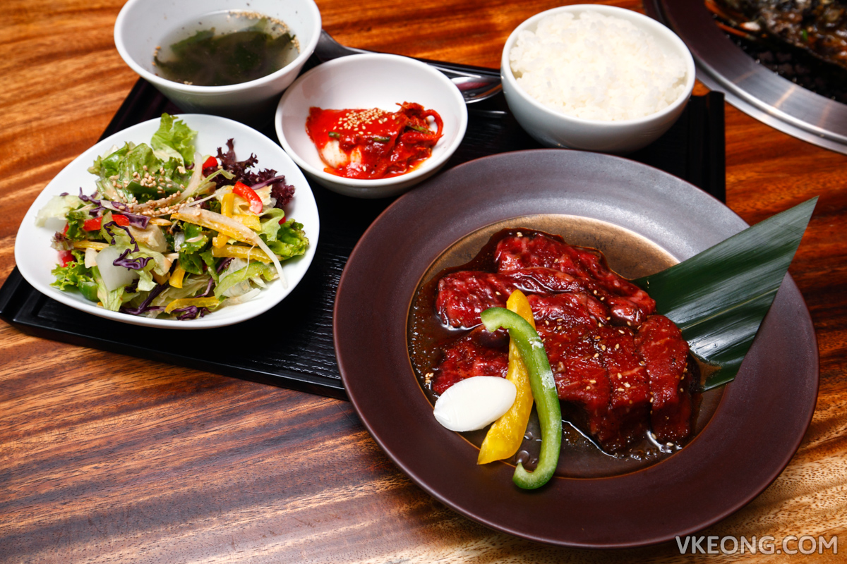 Yakiniku Toraji Special Lunch Sets