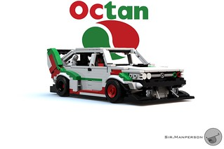 Octan FSO Polonez Time Attack - 12-wide - Lego
