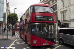 Wrightbus NRM NBFL - LTZ 1038 - LT38 - Pimlico 24 - Metroline - London 2017 - Steven Gray - IMG_1149