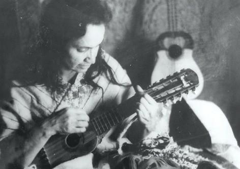 A artista tinha paixão pelo folclore andino e retratou a cultura em suas composições - Créditos: Arquivo pessoal