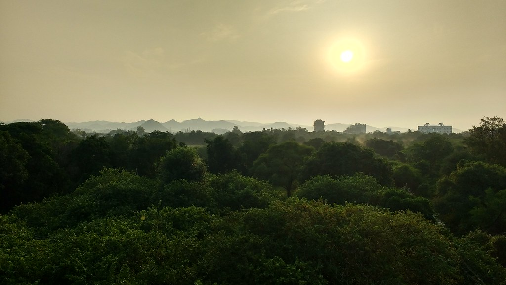 Sunrise at Fateh Sagar