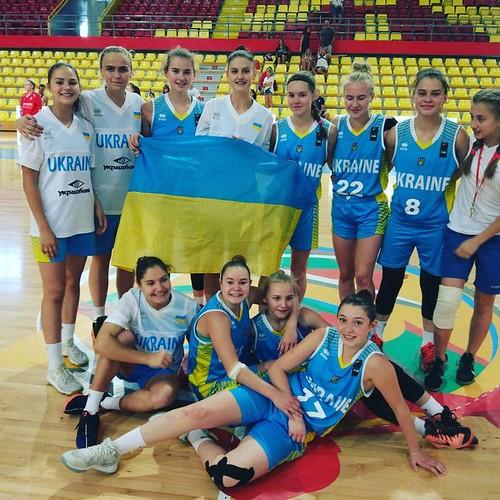 Рівненські баскетболістки на чемпіонаті Європи — четверті