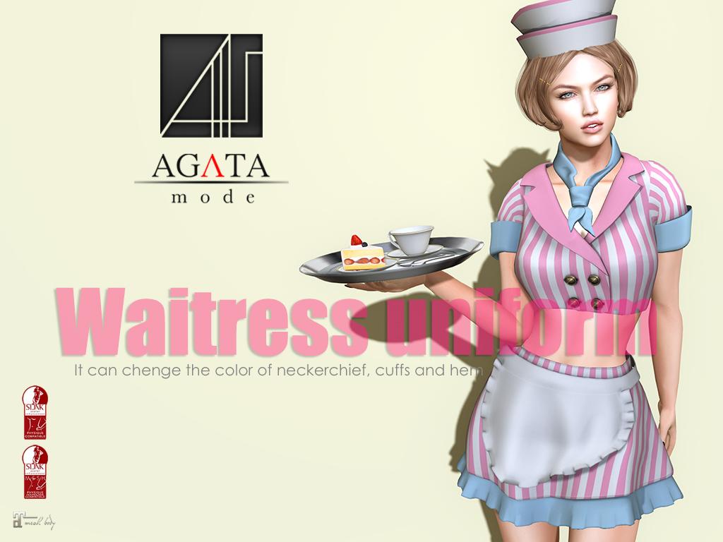 waitress uniform @ kinfes - TeleportHub.com Live!