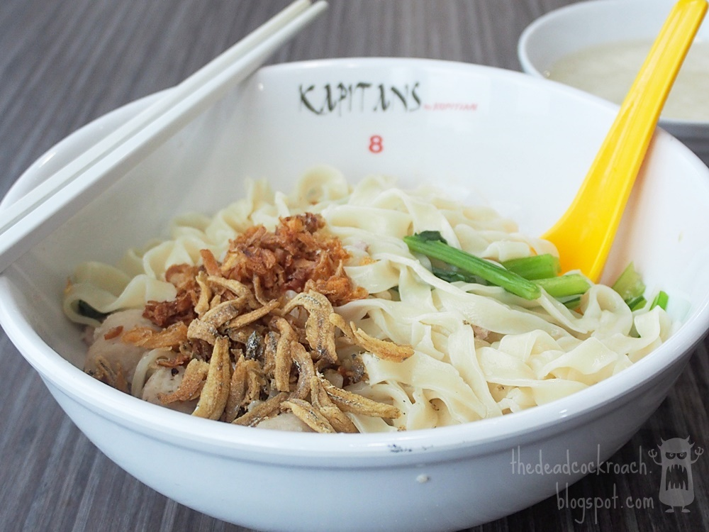 food review,food,review,singapore,tampines 1,foodcourt,ban mian,hand made noodle,l32 hand made noodle,l32 ban mian,kopitiam,kapitans, 芽笼著名手工面,芽笼,手工面
