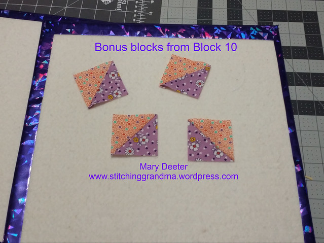 Bonus Blocks from Block 10