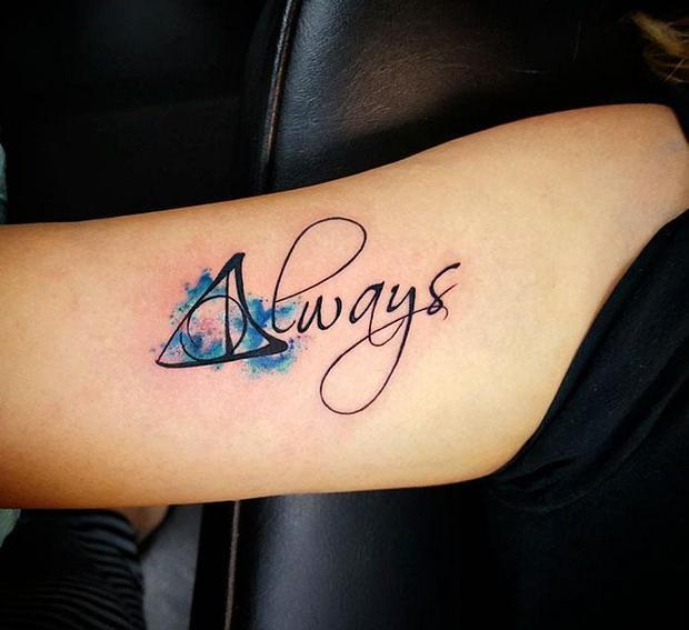 20 tatuagens de HP