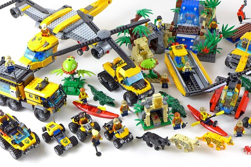 LEGO City Jungle All Sets 33